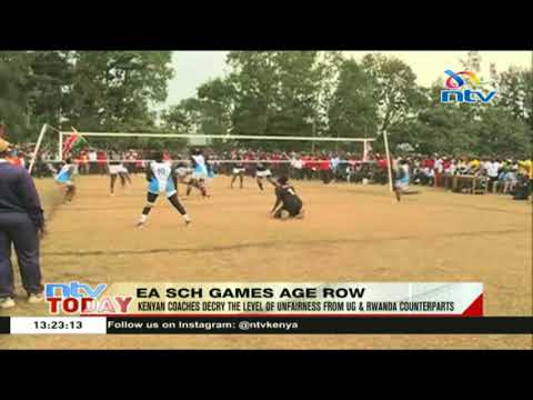Kenyan coaches decry the level of unfairness in the E.A school games