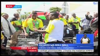 Kikosi cha mchezo wa Roll ball wawasili baada ya kufuzu katika kombe la dunia nchini Bangladesh