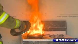 Tips help prevent, fight kitchen fires