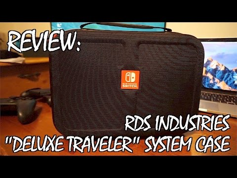 AWESOME SWITCH TRAVEL CASE: RDS Industries Deluxe Travel System case