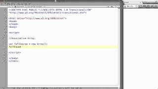 JavaScript - 42. Associative Arrays