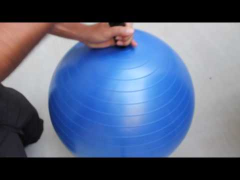 How To Inflate An Exercise Ball - URBNFit