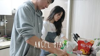 ANGEL DIARY | Easy Korean Recipes, Finally Left The House