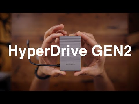 Hyperdrive Gen2 18-in-1 (HDMI, DisplayPort, VGA, 100W, USB C, USB Type A)