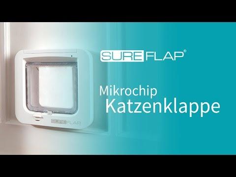 Wo Sie die Seriennummer Ihrer SureFlap Mikrochip Katzenklappe finden können