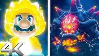 Super Mario 3D World + Bowser's Fury Gameplay Trailer | Mario & Bowser New Transformations (4k HD)