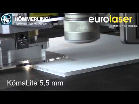 KömaLite® | Laser cutting test