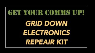 DIY - Grid Down Electronics Repair Bag