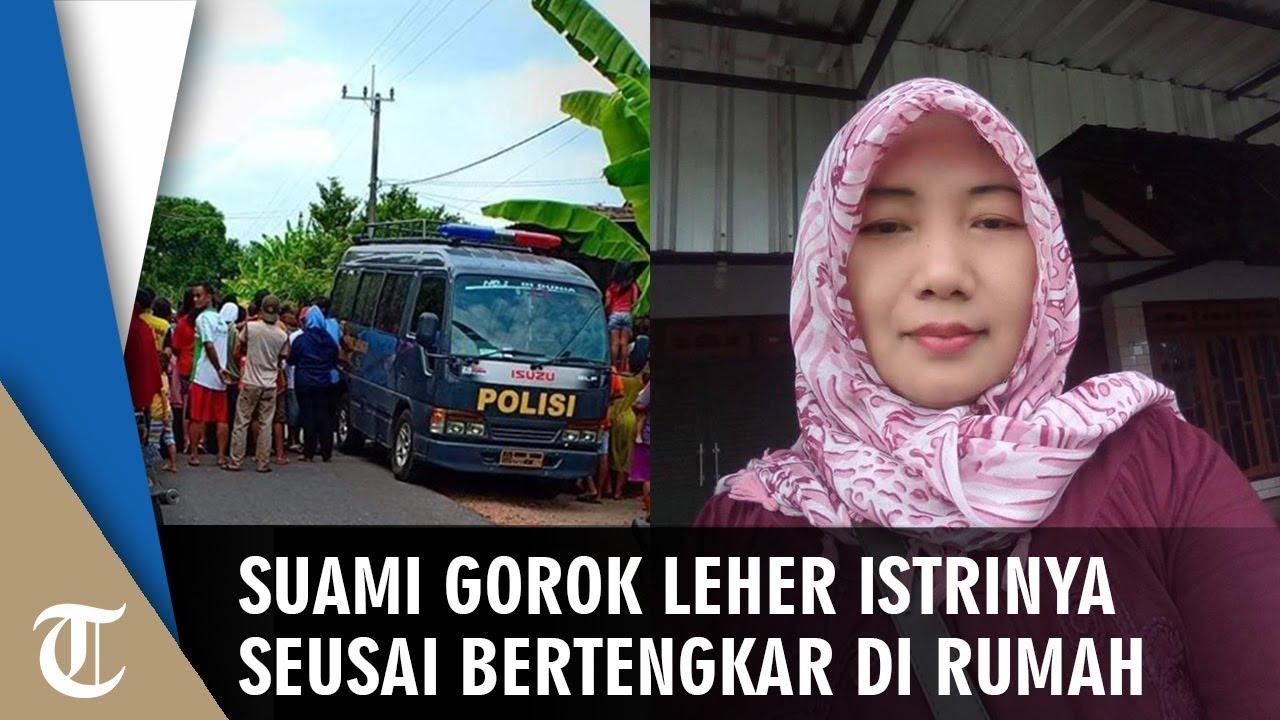 wanita ditemukan tewas bersimbah darah suami sempat