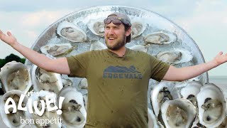 Brad Explores an Oyster Farm | It's Alive | Bon Appétit