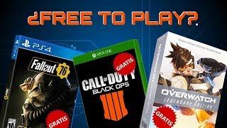 Videojuegos Que Podrían Funcionar Como Free To Play