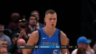 Kristaps Porzingis (18 points) Highlights vs  San Antonio Spurs