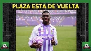 Stiven Plaza esta de vuelta Real Valladolid ⚽ ecuatorianos en el extranjero