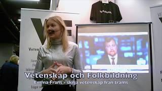 VoF Bokmässan 2018: Emma Frans