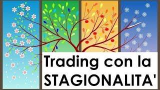 Trading con la Stagionalità - 24.05.2018