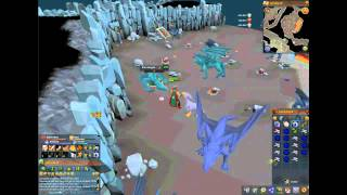 Runescape 3 Guthans Vs Blue Dragons