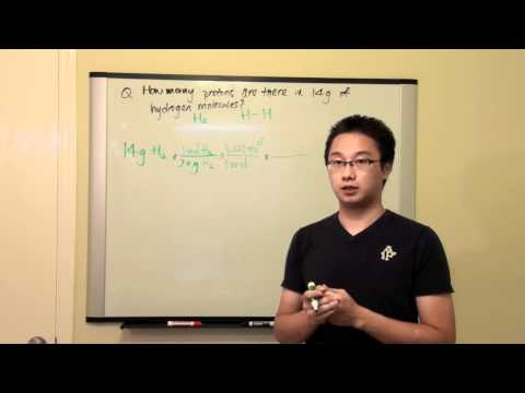 [HD] Mole Calculation - Find the no. of protons in hydrogen molecules