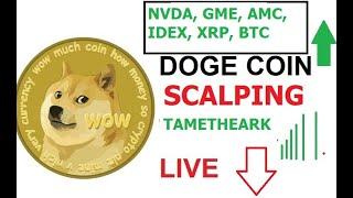 Crypto Market is Bullish Again #Doge Live Chart #BTC Prices - Elon Musk #DOGECOIN 🐋🚀#tametheark