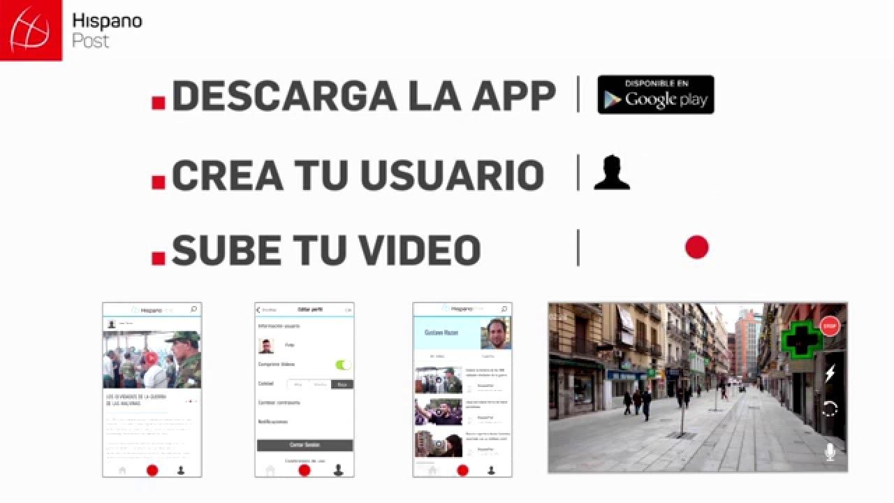Aplicación Hispanopost Google Play