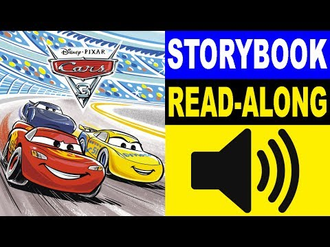 Cars 3 Read Along Story Book | Cars 3 Storybook | Read Aloud Story Books For Kids