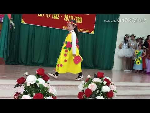 Biểu diễn thời trang Chào mừng ngày Nhà giáo Việt nam 20/11/ 2019 - Trường mầm non Xuân Hương