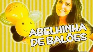 Passo a Passo: Abelhinha De Balões