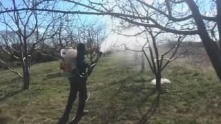 Ранцевый опрыскиватель Champion PS257 - видео №1