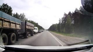 Авария на трассе Тюмень-Омск- страшная авария 10 июня