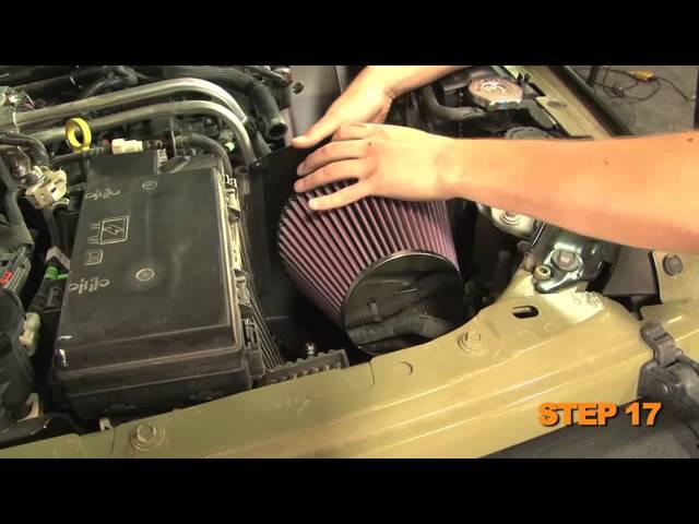 2012-2017 Jeep Wrangler ALL 3.6L 3.6 Pentastar COLD AIR INTAKE HEATSHIED KIT