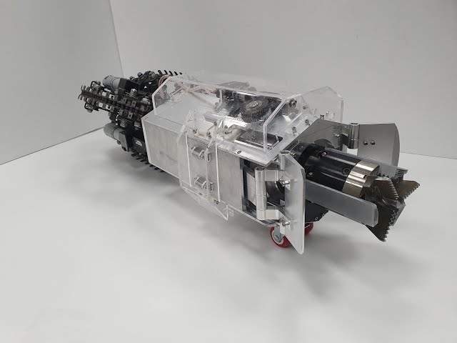 В Корее создали робота-крота для исследования других планет
