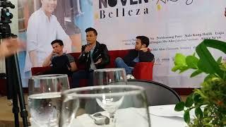 Noven Belleza gives sample of