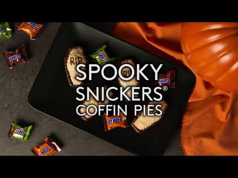 Spooky SNICKERS® Coffin Pies