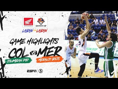 [Sport5]  Highlights: Columbian Dyip vs Meralco | PBA Governors' Cup 2019