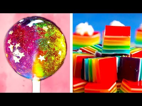 Yummy Rainbow Dessert Ideas | Easy DIY Cakes, Cupcakes and Lollipops by So Yummy