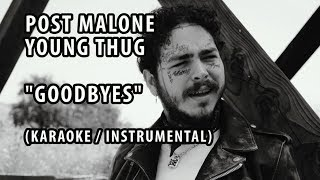 goodbyes post malone instrumental - TH-Clip
