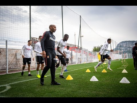 Thierry Henry, premier entraînement - AS MONACO