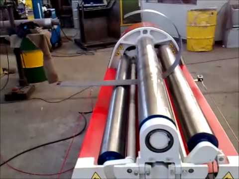 Plate Rolling | Hydraulic Machine | MCA | 4 Roll