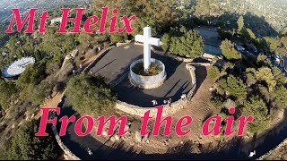 Mt. Helix from the air