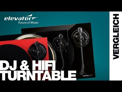 DJ Turntable & HiFi Plattenspieler - Vergleich (Elevator Vlog 148 deutsch)