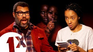 """""""There's a connection...!"""" Jordan Peele on Us and Get Out theories."""