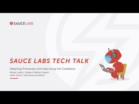 Tech Talk: Optimizing CI/CD for Continuous Testing- Adapting Process and Improving the Codebase Related YouTube Video