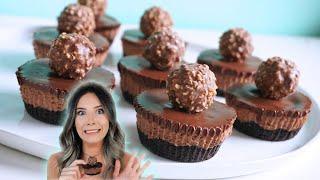Video NO-BAKE Mini Nutella Cheesecakes MP3, 3GP, MP4, WEBM, AVI, FLV September 2019