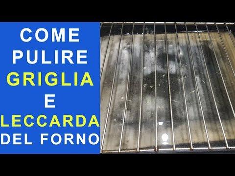 COME PULIRE LA LECCARDA (LA TEGLIA DEL FORNO) E LA GRIGLIA