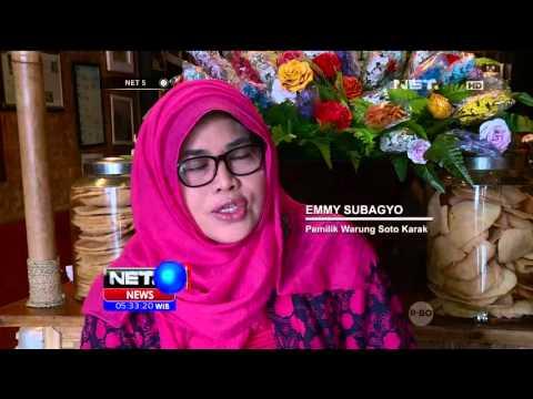 Video Kuliner Legendaris: Menikmati Soto Karak Khas Salatiga di Bogor - NET5