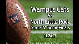Conway Wampus Cats vs North Little Rock, 7A semi-finals