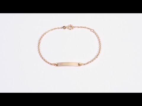 Armband für Damen aus 14K Gold mit Diamant ID1066SL