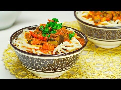 Лагман. Узбекская кухня. Рецепт от Всегда Вкусно! видео
