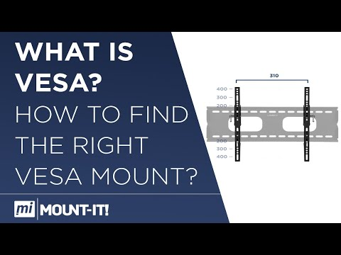 What is VESA | How to measure VESA | How to Find the Right VESA Mount for Your TV
