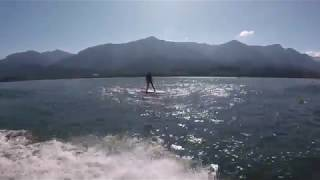 Foil Life: Hydrofoil Surfing the Sternwheeler: Never Ending Waves