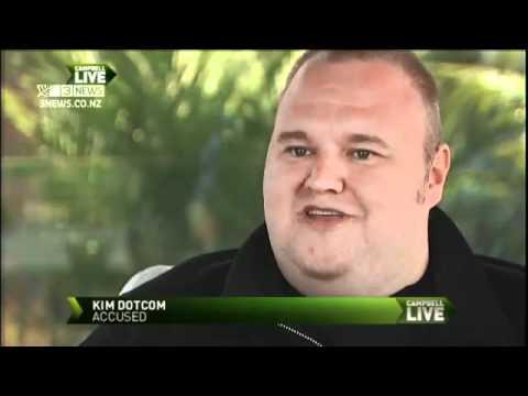 Kim Dotcom o Megauploadu
